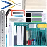 WiMas 64 Pièces Modeler Basic Tools Kit, Gundam Modèle Outils Kit, Hobby Building Craft Set pour la Construction du modèle de
