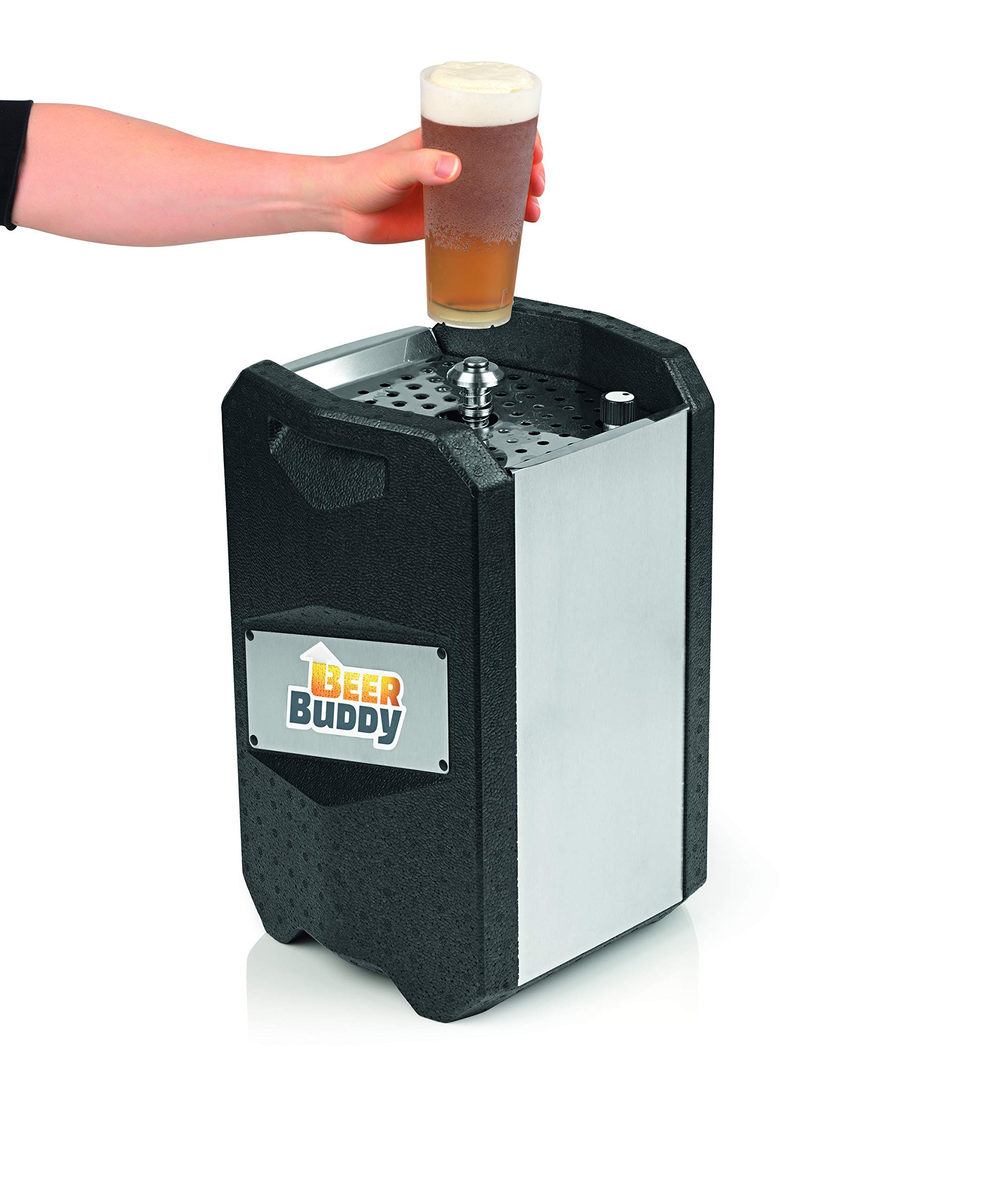 81ZfvATbzwL - Beer Buddy Version 2.0 latest version. Bottoms Up Beer Tap for 5 Litre Party Barrels