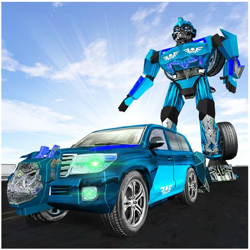 Cruiser-Transformator-Roboter, der Stadt-Held kämpft Transformatoren Stadt
