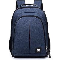 FUR JADEN DSLR SLR Camera Lens Shoulder 14 Inch Laptop Backpack for Canon Nikon Sigma Olympus with Tripod Holder