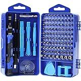 YINSAN 120 en 1 Tournevis Precision Kit Tools, Portable Kit Tournevis de Précision Magnétique Tournevis Outils de Réparation