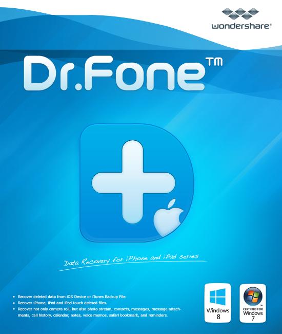 Wondershare Dr.Fone for iOS-Backup & Wiederherstellen von Whatsapp [Download]