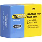 Tacwise 16G/38mm Rechte Brad Finish Nails voor Nail Gun (2500 doos) F16.