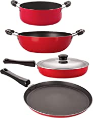 Nirlon Non-Stick 3 Layer Coated Non-Induction Cooking Essential Combo Set Offer Online at Best Price