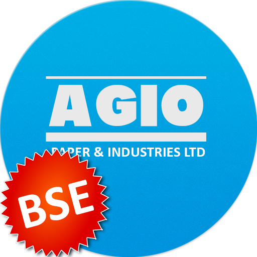 BSE price of Agio Paper & Industries Ltd.