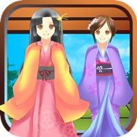 Sakura Tries Cute Kimonos - Dress Up
