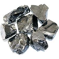 Shungite précieuse - 5 à 10 pierres de 20 g - Avec certificat et garantie de qualité.