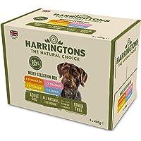 Harringtons Grain Free Wet Dog Food Mixed Flavours 6x400 g