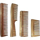 Simgin Handmade Neem Wooden Comb Family Pack-1