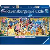 Ravensburger - Puzzle Adulte - Puzzle 1000 p - Photo de groupe Disney (Panorama) - Adultes et enfants dès 14 ans - Puzzle de