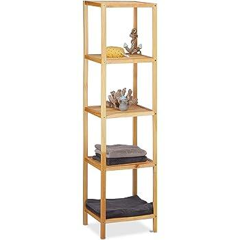 BoxLegend IKEA Holzregal Molger Regal mit 5 Ablageböden