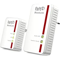 AVM Fritz Powerline 540E / 510E WLAN Set  (500 MBit/s, WLAN-Access Point, Fast-Ethernet-LAN), deutschsprachige Version