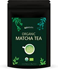 Heapwell Organic Japanese Matcha Green Tea Powder (30 Grams)