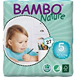 Bambo Nature Premium Baby Diapers - Large Plus Size, 27 Count, for Kids Upto 3 Years - Super Absorbent and Eco-Friendly