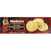 Walkers Shortbread Rounds – 1 x 150 g – Traditionelles Buttergebäck nach schottischem Rezept – Mit süßem Butteraroma
