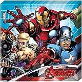 Procos - Servilleta 33 x 33 cm Avengers Mighty, multicolor, 5PR87967