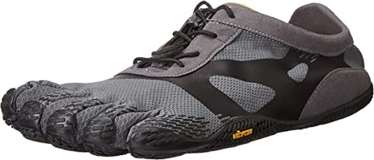 Vibram Kso Evo Five Fingers Fitness Shoes, Men's (Grey/Black)
