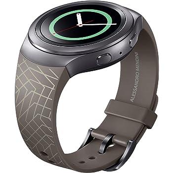 Samsung Original Gear S2 Mendini Edition Sports Watch Wrist Strap - Dark Brown