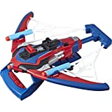 Marvel Spider-Man Web Shots Spiderbolt Nerf Powered Blaster Toy for Kids Ages 5 and Up