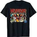 Marvel X-Men Retro Wolverine 90s T-Shirt