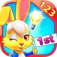 Wonder Bunnys Mathe-Rennen: Erstklässler-App für Zahlen, Addition und Subtraktion