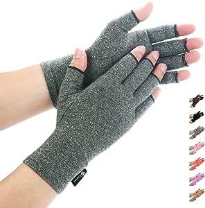 LADES DIRERCT Arthritis Handschuhe Kompressions-Handschuhe F/ür Schmerzlinderung Rheumatische Arthritis Fingerlose Handschuhe Damen Herren Handschuhe Osteoarthritis Gelenkschmerzen