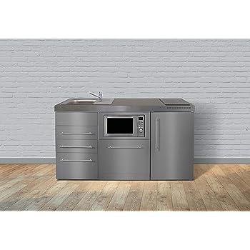 minik che premiumline mpgsmess3 160 edelstahl k hlschrank geschirrsp ler mikrowelle. Black Bedroom Furniture Sets. Home Design Ideas