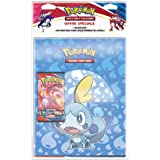 Pokémon Pack Portfolio + Booster (Modèle aléatoire) -Epée et Bouclier Styles de Combat (EB05) société-Jeu de Cartes à Collect
