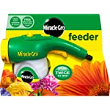 Miracle-Gro Feeder filled with All Purpose Soluble Plant Food, Green, 220.0 mm*310.0 mm*115.0 mm, Connects Straight to a…