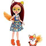 Enchantimals Felicity Fox y Flick, muñeca con mascota (Mattel FXM71)
