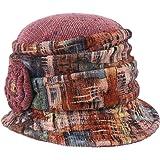 Lierys Cappello da Donna Coloured Chenille - Made in Italy di Tessuto Cloche Cotone Autunno/Inverno