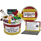 Teacher Survival Kit In A Can. Humorous Novelty Fun Gift - Thank You/Thankyou/Birthday/Christmas/End of Year/Term/School/Teac