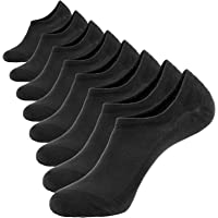 8 Pairs Bamboo Low Cut Sock Men, Casual Moisture Wicking No Show Socks, Soft Invisible Socks Non Slip By DiaryLook