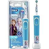 Oral-B Kids Oplaadbare Elektrische Tandenborstel - 1 Handvat Met Disney Frozen, Voor Kinderen Vanaf 3 Jaar