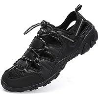 Chaussures de Randonnée Homme Sandales Bout Fermé de Sport Ete de Marche de Plage Respirant