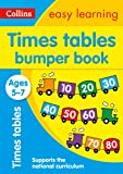 Times Tables Bumper Book Ages 5-7: Prepare for school with easy home learning (Collins Easy Learning KS1)