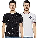 Amazon Brand - House & Shields Men's Solid Regular Fit T-Shirt