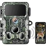 TOGUARD 4K WiFi djurliv kamera Bluetooth 30MP jakt vandringskamera med IR LED nattvision spelkamera 120° detektering rörelsea