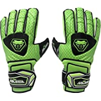 Mamba Goalkeeper Gloves | Youth/Adult | Premium Quality Latex Palm & Back Hand | Finger Spine Protection | Double Layer…