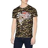 Superdry VL Rising Sun tee Camiseta para Hombre