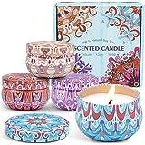 LA BELLEFÉE Bougies Parfumées à la Cire de Soja Naturelle Idées de Cadeau pour Femme, Amies, Copine, Mère, pour l'Aromathérap