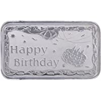 Ananth Jewels BIS Hallmarked 20 Grams Silver BAR Gift for HAPPY BIRTHDAY