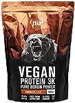 nu3 Vegan Protein 3K Shake | 1 Kg Chocolate Blend | veganes Proteinpulver aus 3-Komponenten-Protein mit 70% Eiweiß...