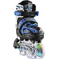 Apollo Super Blades X PRO, Misura S, M, L, Pattini Inline-Skate LED, Rollerblade per Bambini, Ideali per Principianti, Pattini Comodi, inliner inlinea per Bambine e Bambini