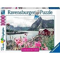 Ravensburger - Lofoten, Norway Puzzle, Multicolor, 1000 Pieces, 16740 1