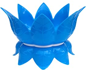 Plantex High Grade Virgin Plastic Lotus Shaped Water Pot/Matka Stand/Matka Holder