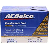 ACDelco Battery for Car Capacity 55 Ah