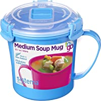 Sistema Microwave Soup Mug, 656 ml - Blue