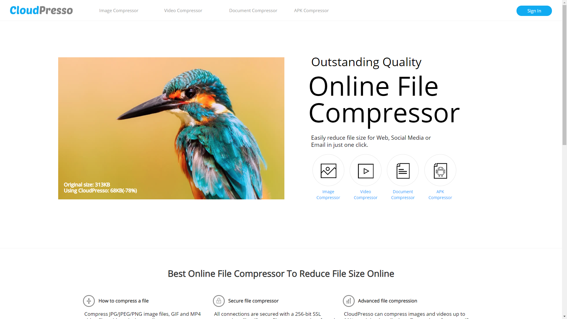 Cloudpresso File Compressor Online Amazon Co Uk Appstore For Android