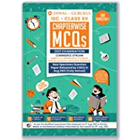 Chapterwise MCQs Commerce Book for ISC Class 12 Semester I Exam 2021 : 2500+ New Pattern Questions (English, Maths, Eco…